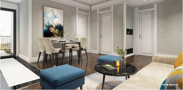 Phối cảnh 3D căn hộ