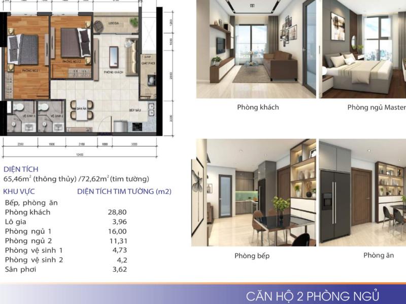 mô hình căn hộ phú tài quy nhơn