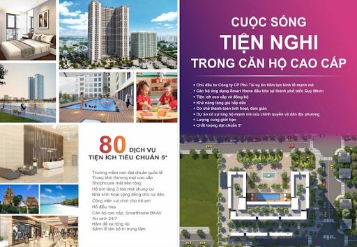 Giá của chung cư Phú Tài rất xứng đáng với các tiện ích mang lại